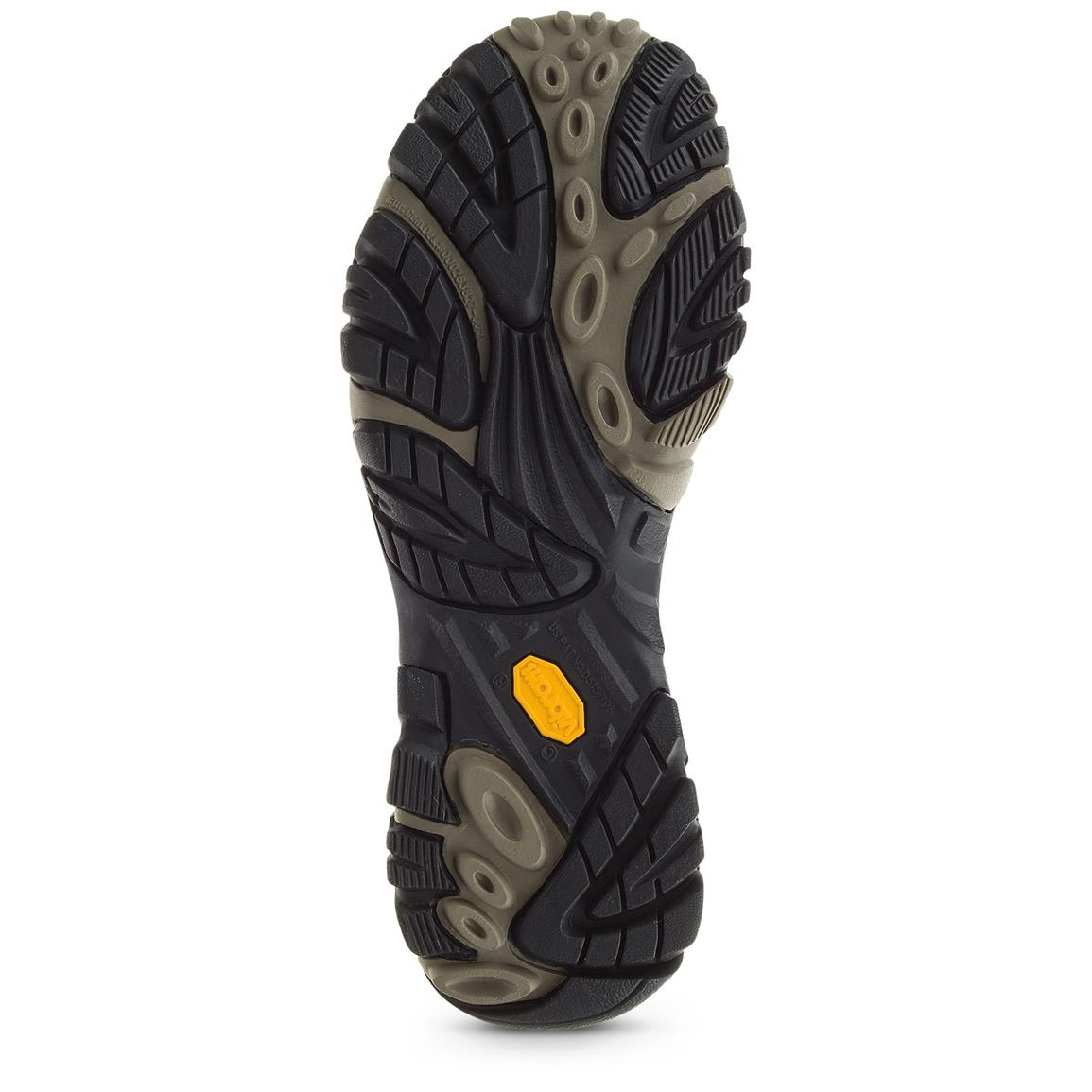 Vibram TC5+ outsole with 5mm lugs excels on both wet and dry surfaces in even the most extreme temperatures