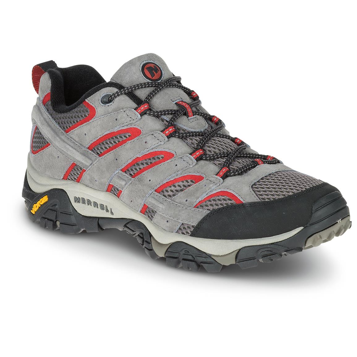 Merrell Men's Moab 2 Vent Hiking Shoes, Charcoal/Gray