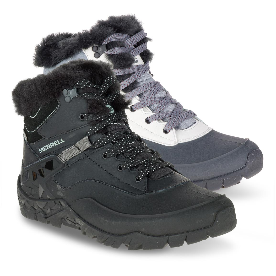 Merrell Women's Aurora 6 Ice+Waterproof Hiking Boots