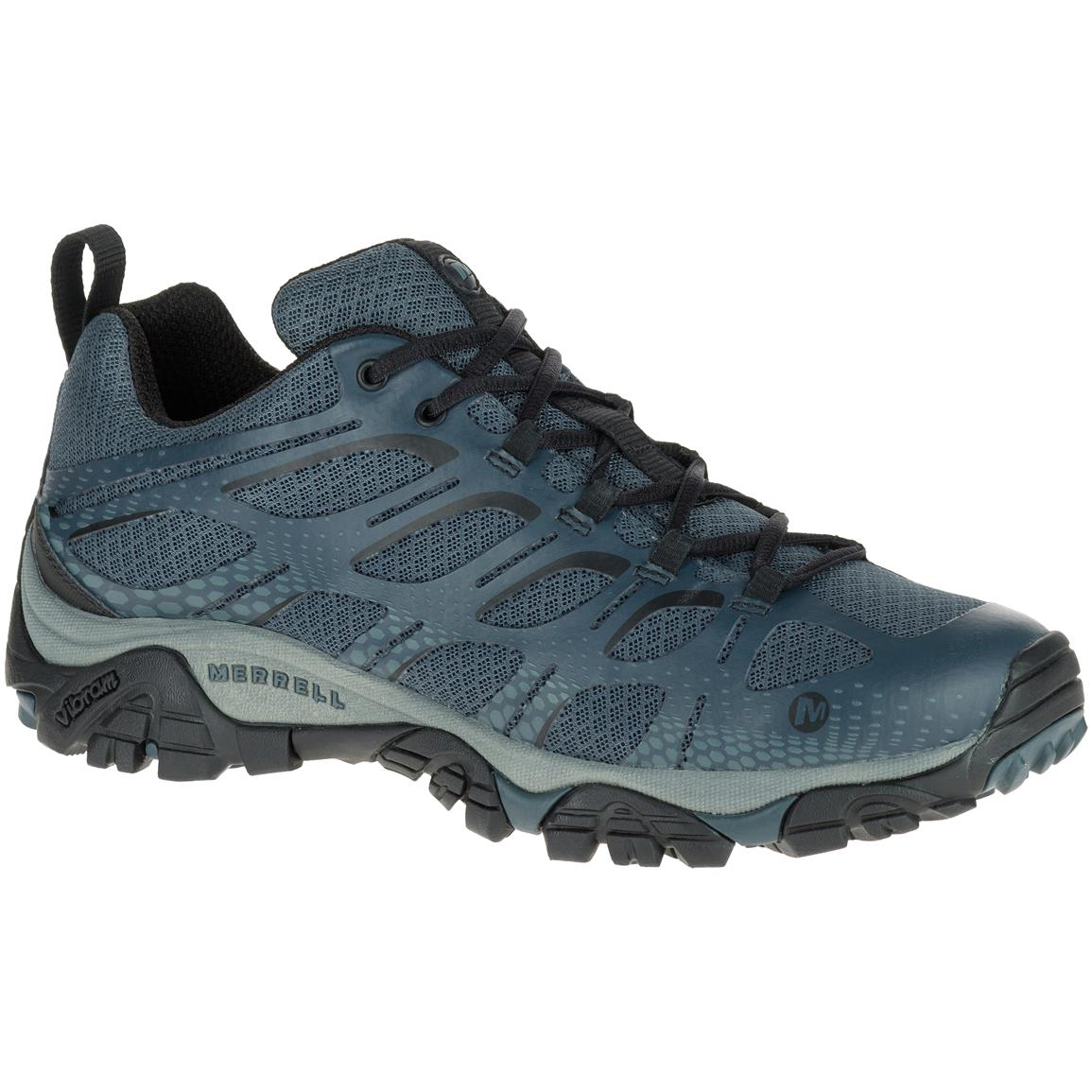 Merrell Men's Moab Edge Hiking Shoes, Dark Slate