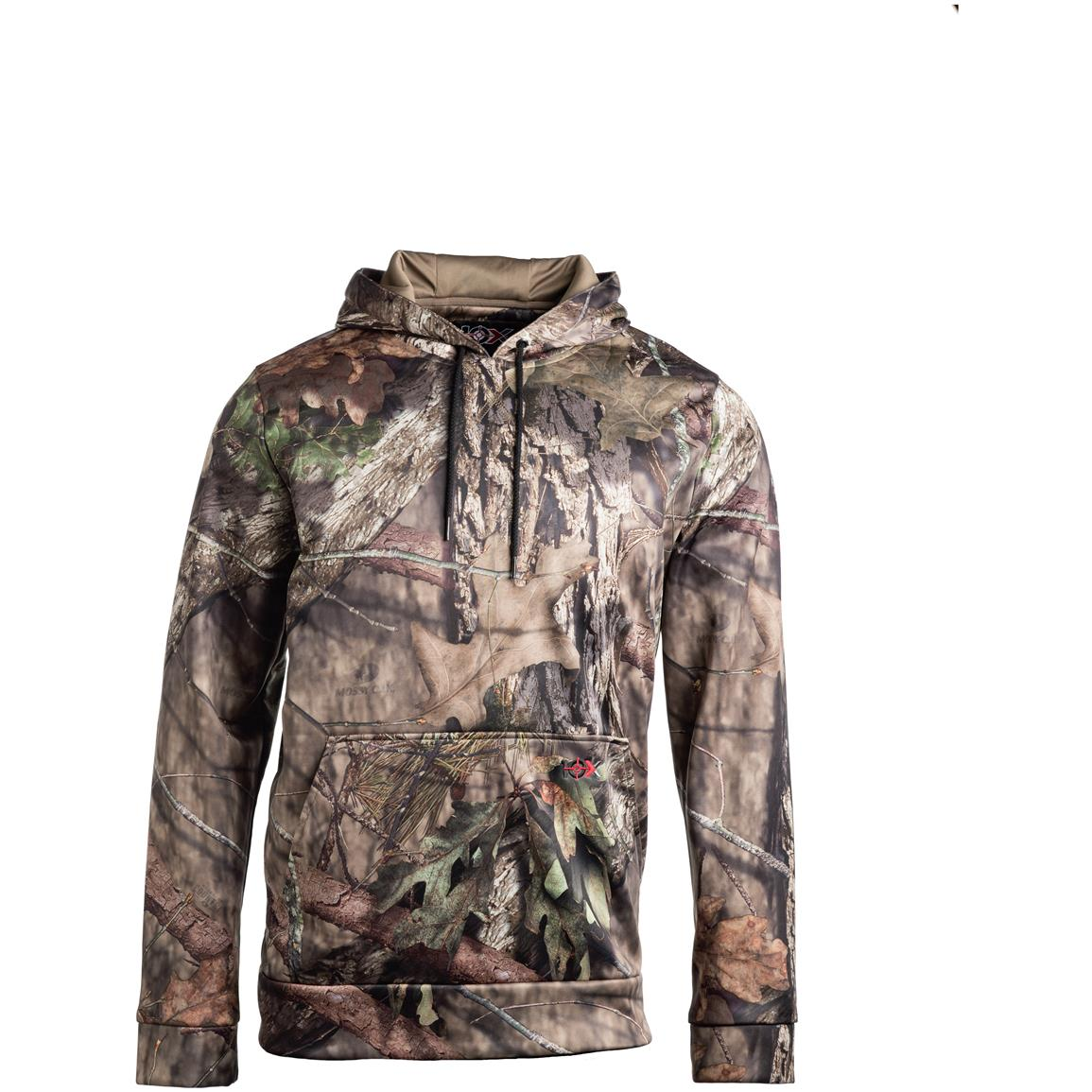 10X Men's Scentrex Hoodie, Mossy Oak Break-Up Country