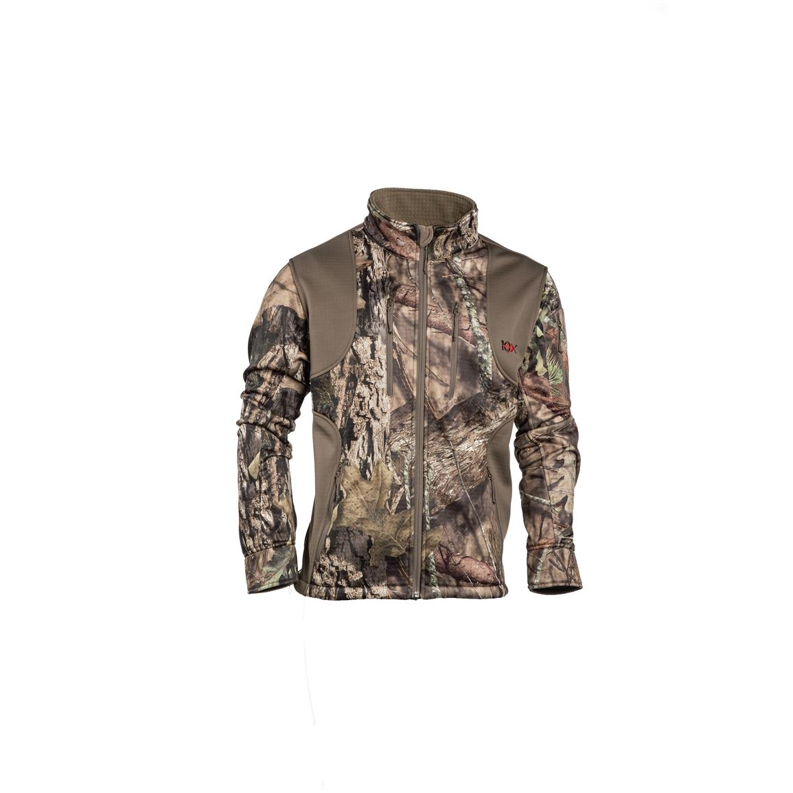 10X Men's Scentrex Lock Down Jacket, Mossy Oak Break-Up Country