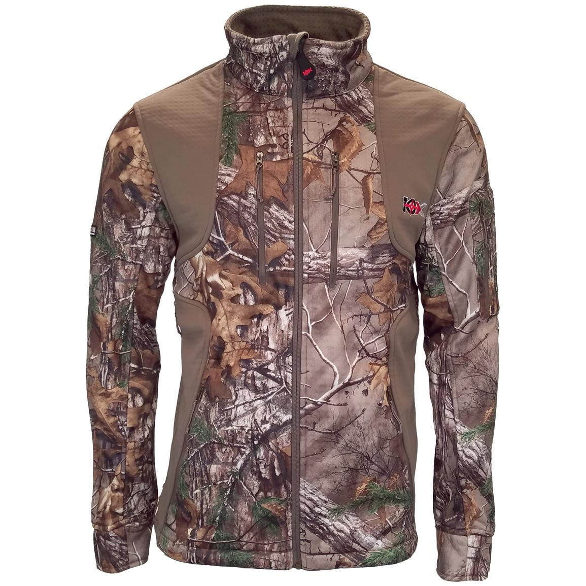 10X Men's Scentrex Lock Down Jacket, Realtree Xtra
