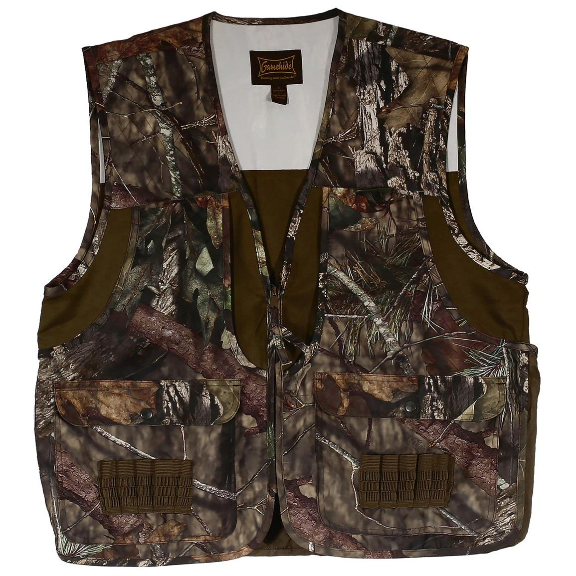 Gamehide Youth Front Loader Hunting Vest Mossy Oak Break-Up Country