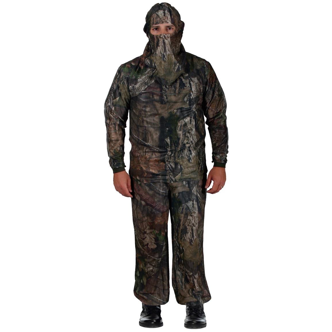 HECS Stealthscreen 3 Piece Concealment Suit, Mossy Oak Break-Up Country