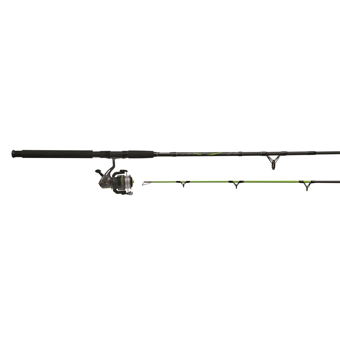 Zebco big cat spinning rod and reel combo 676320 for Cat fishing pole