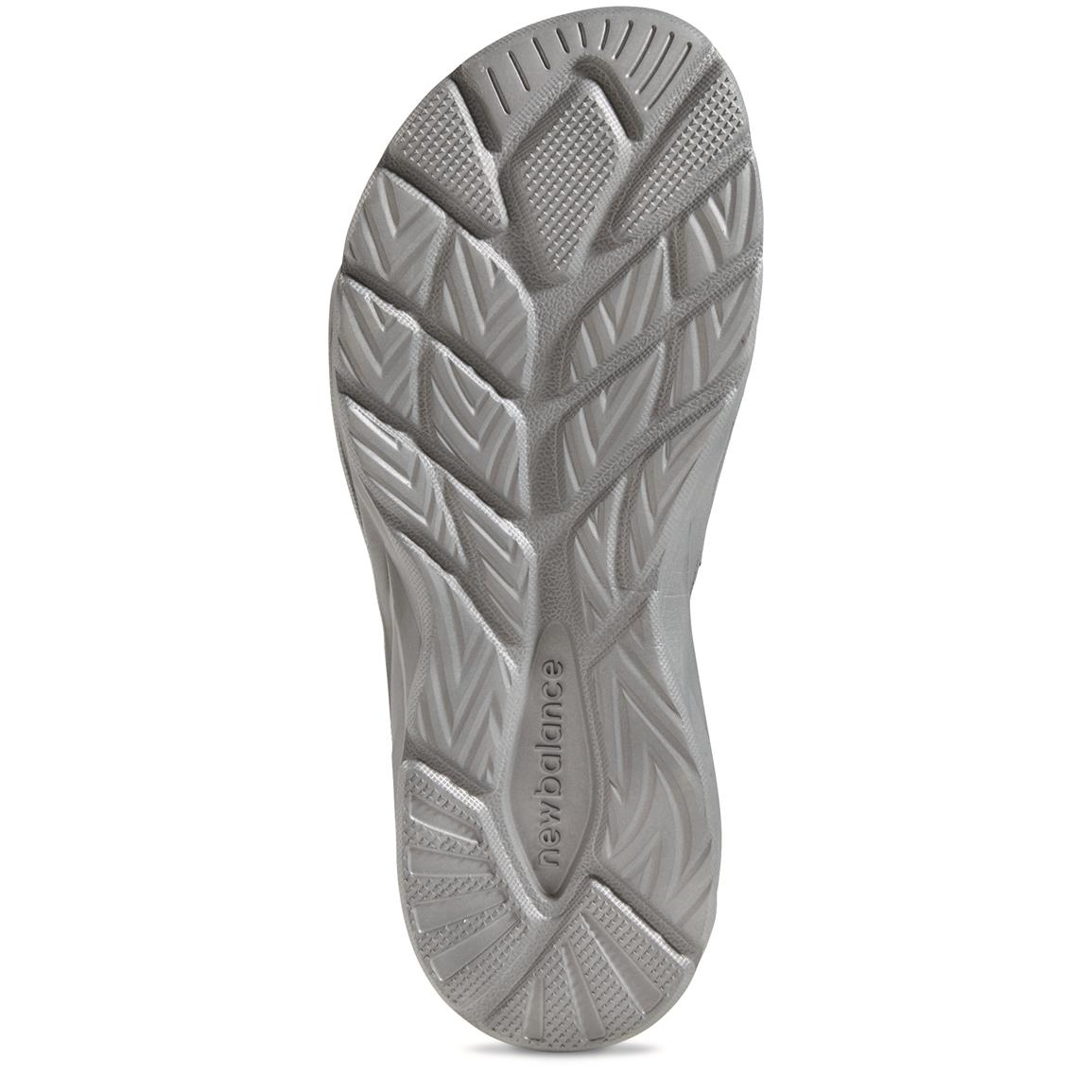 Outsole with textured detail at toes and heel for extra traction