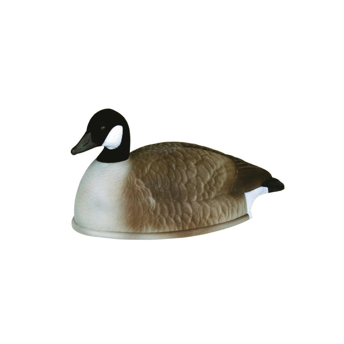 Flambeau Stormfront Flocked Head Canada Goose Shell Decoys, 12 Pack • Resting Decoys