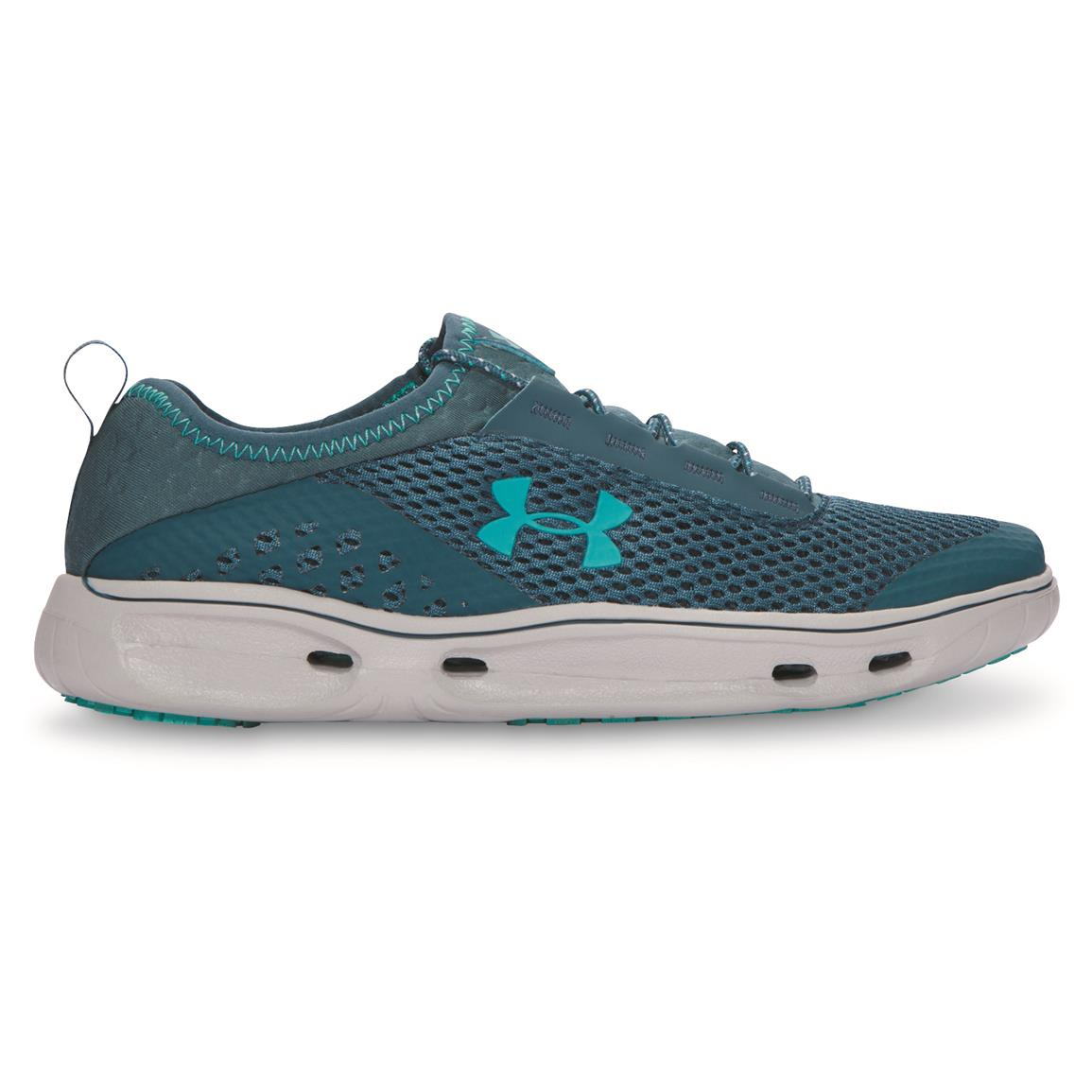 Under Armour Women's Kilchis Water Shoes, Marlin Blue/Elemental/Neptune