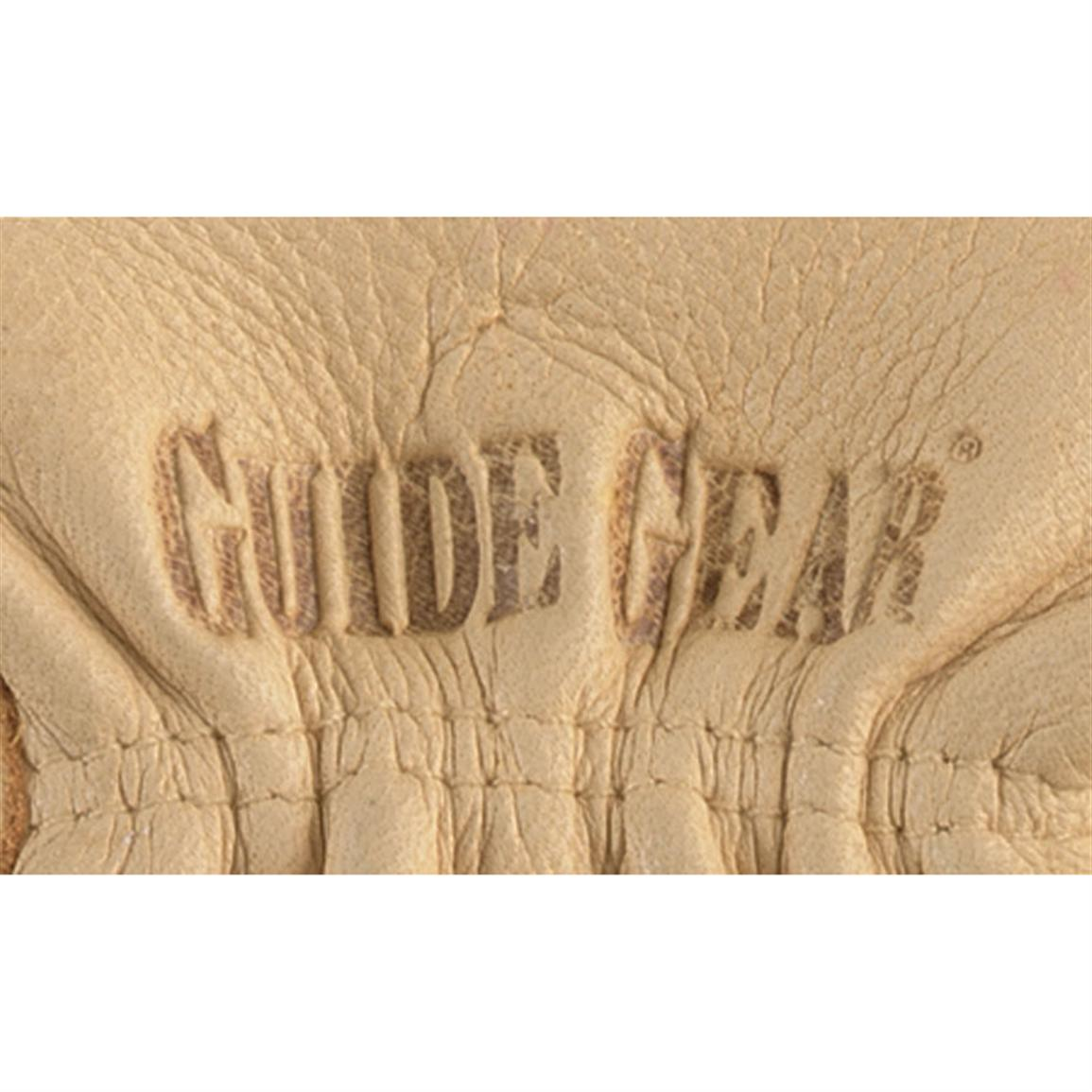 Embossed Guide Gear logo