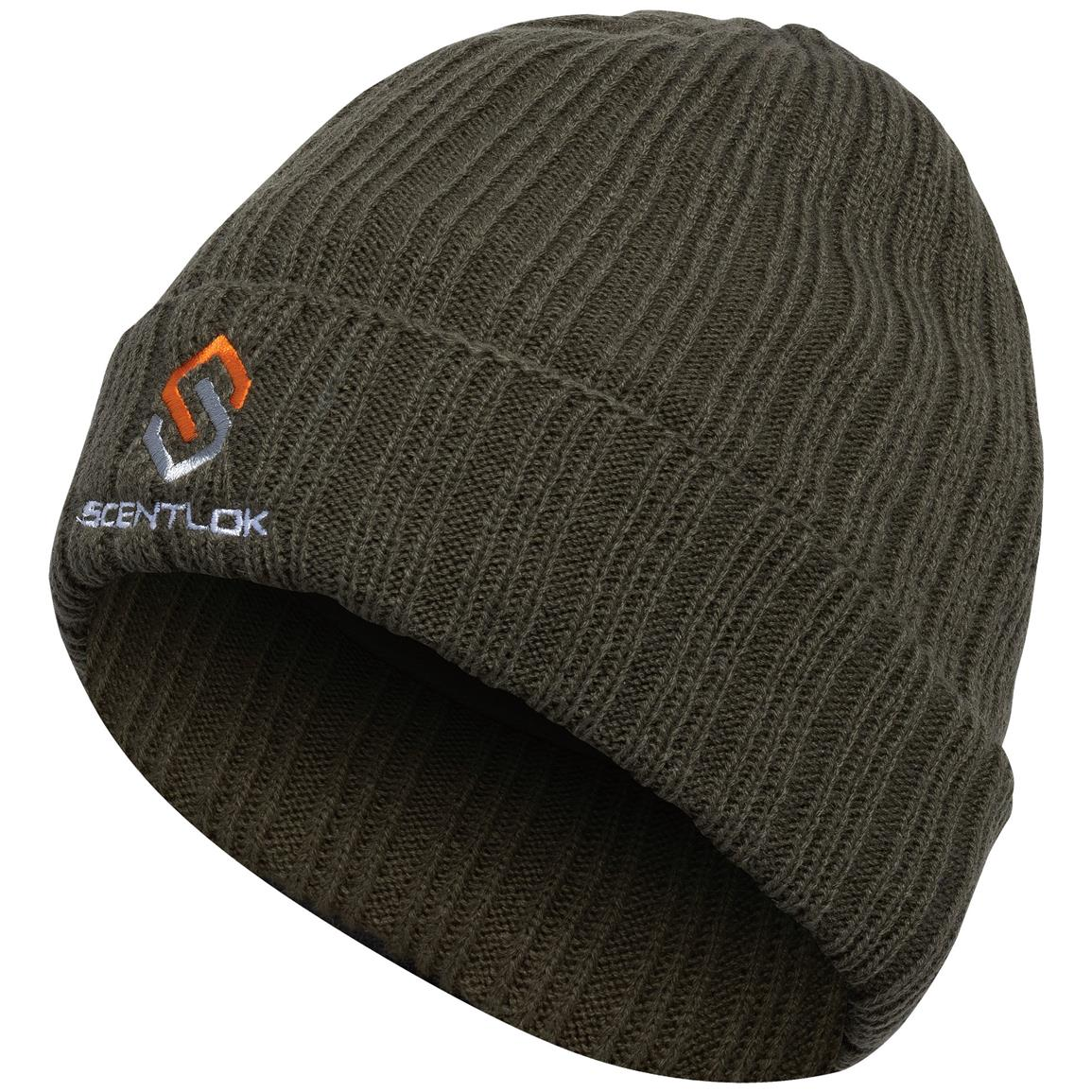 Scentlok Carbon Alloy Knit Beanie, Green