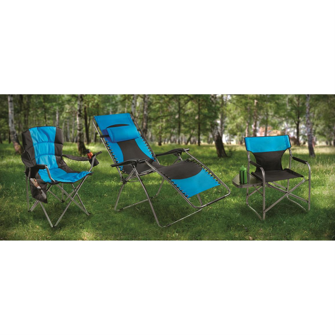 Guide Gear Chairs, Blue