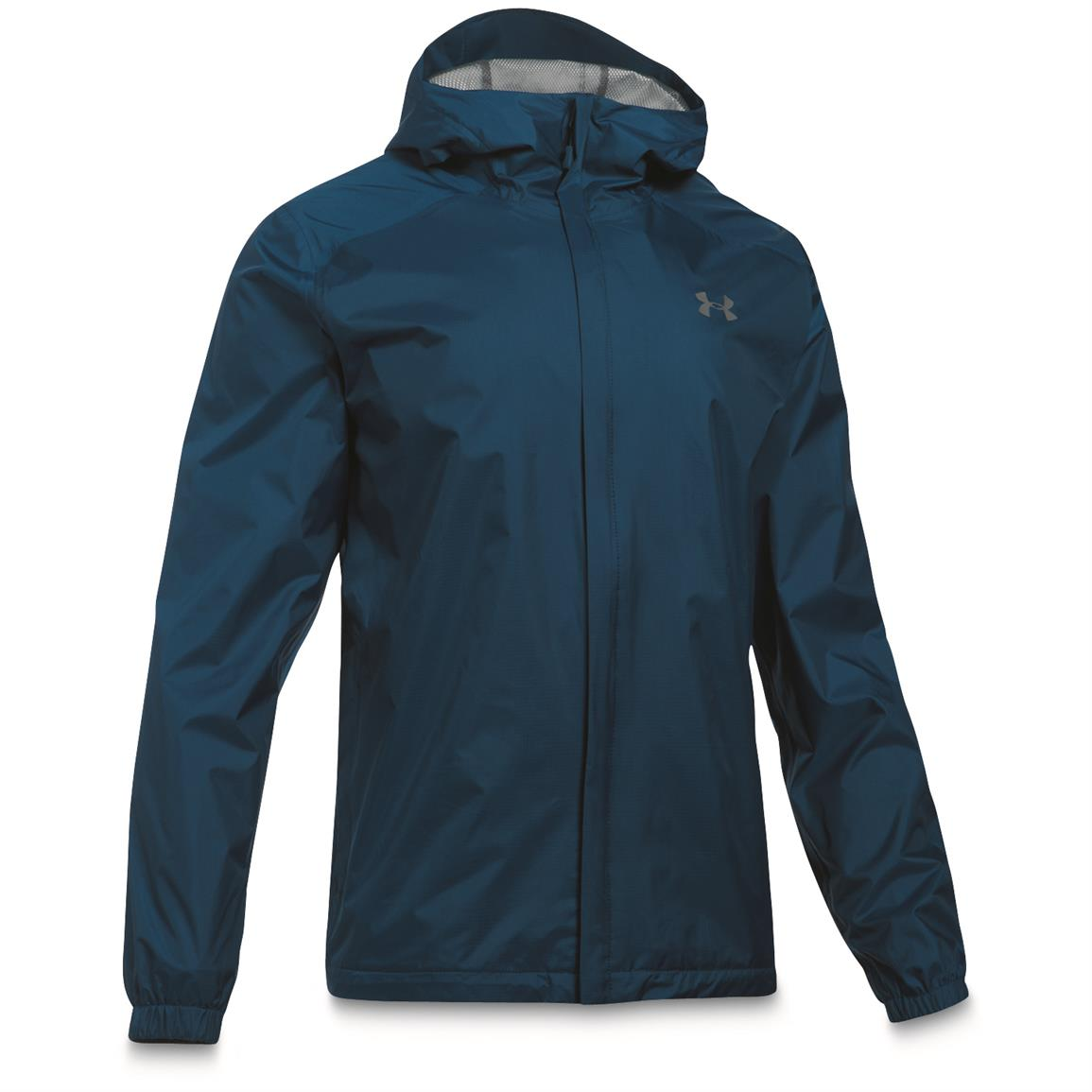 Under Armour Men's Waterproof / Windproof Bora Jacket, Blackout Navy