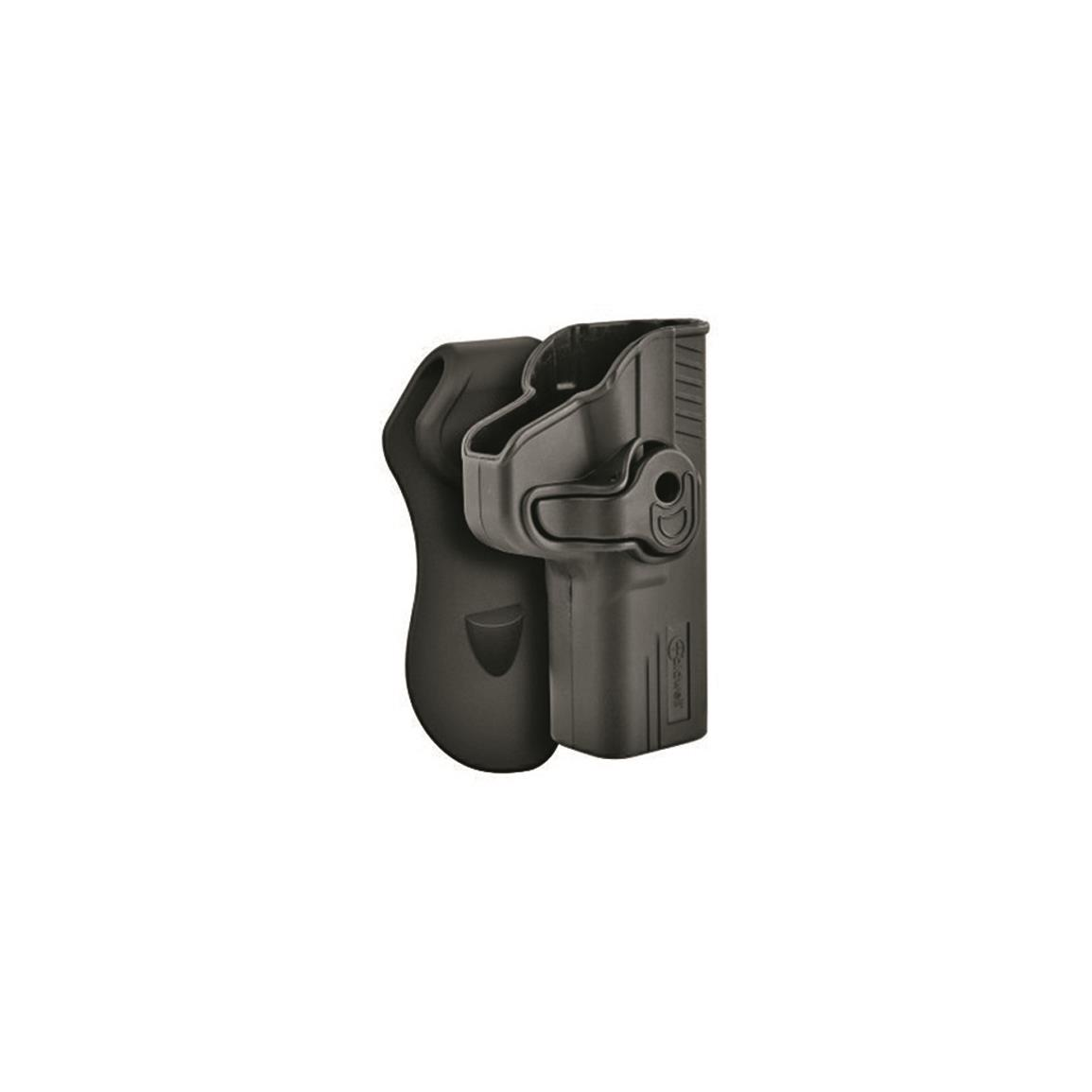 Caldwell Tac Ops Molded Retention Holster, Smith & Wesson M&P9 / M&P40, Right Hand