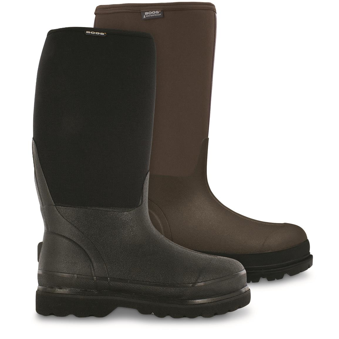 Bogs Men's Rancher Winter Rubber Boots