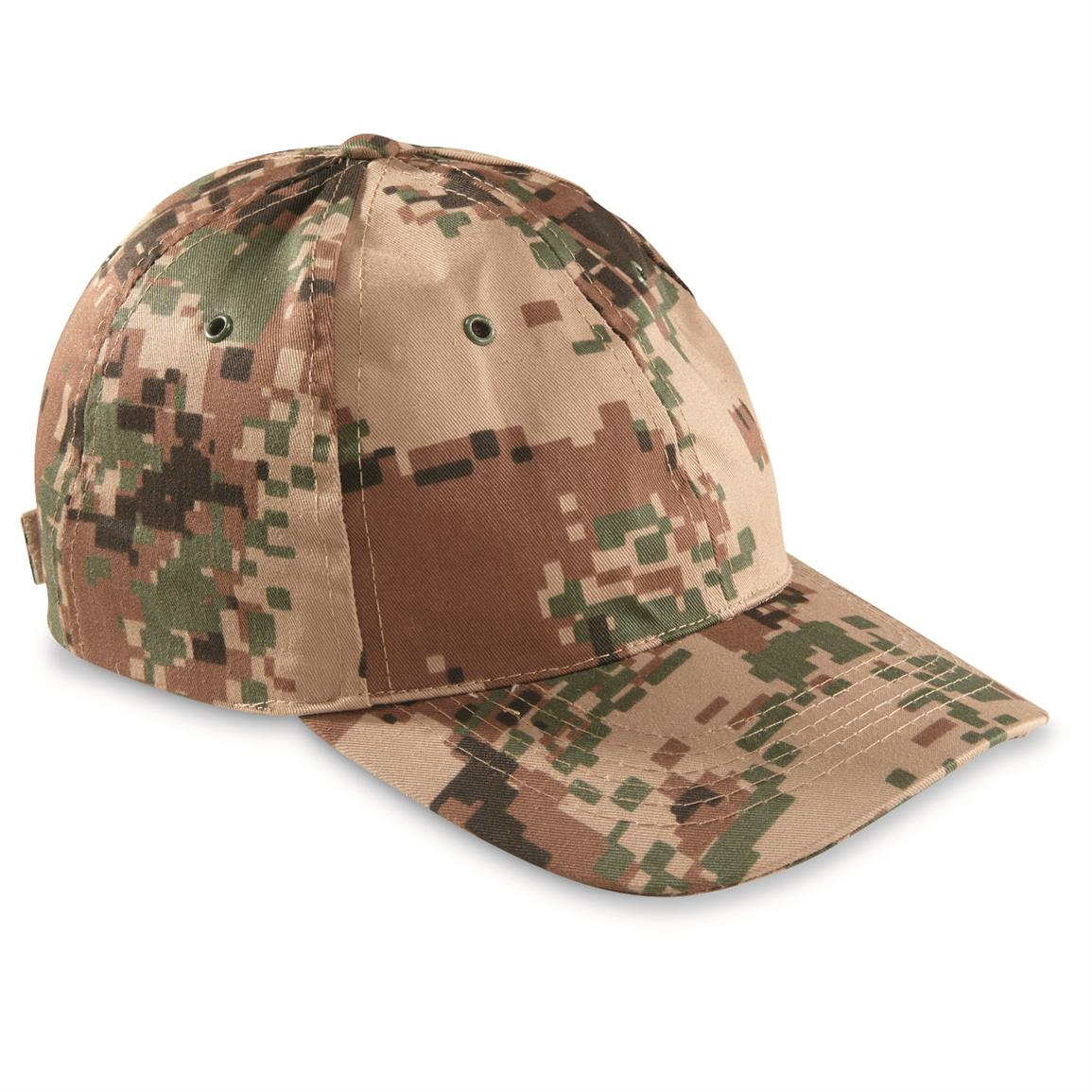 Jordanian Military Surplus Ball Caps, 2 Pack, Desert Camo