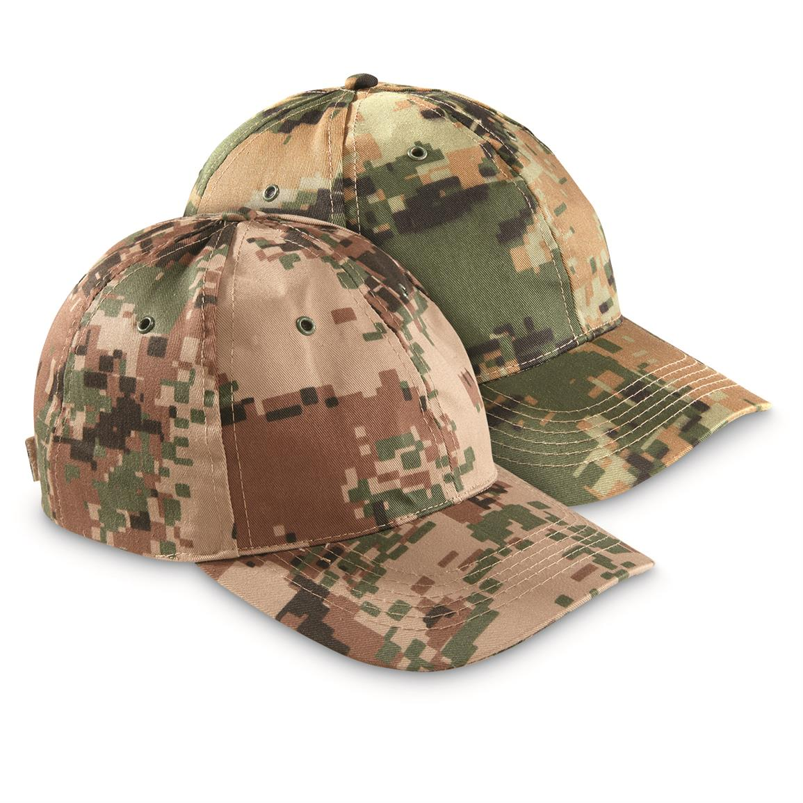 Jordanian Military Surplus Ball Caps, 2 Pack