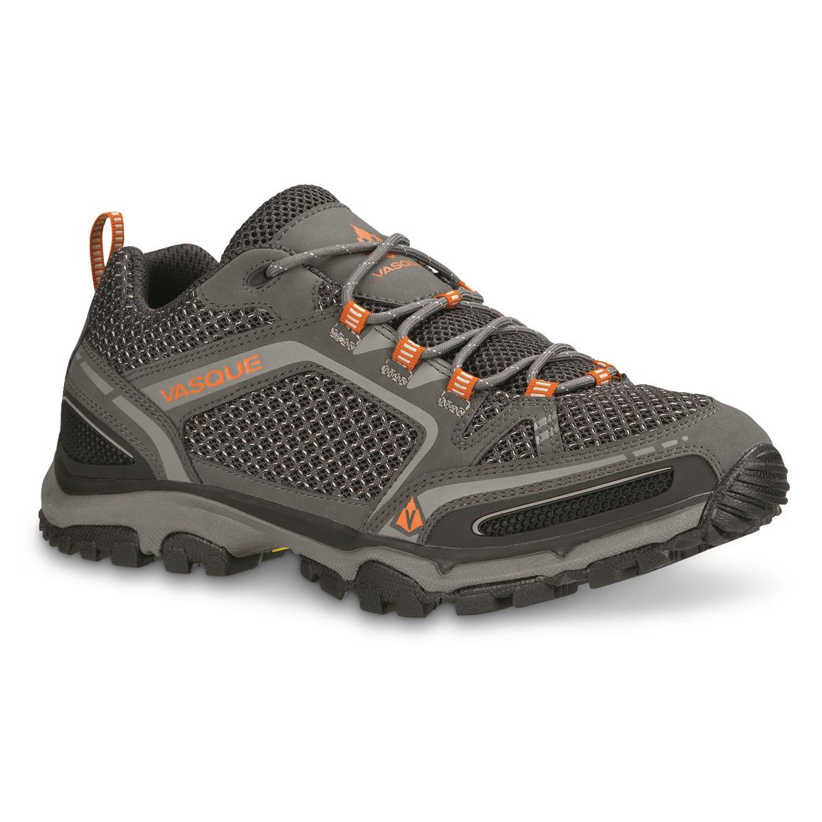 Vasque Men's Inhaler II Low Hiking Shoes, Vibram, Magnet
