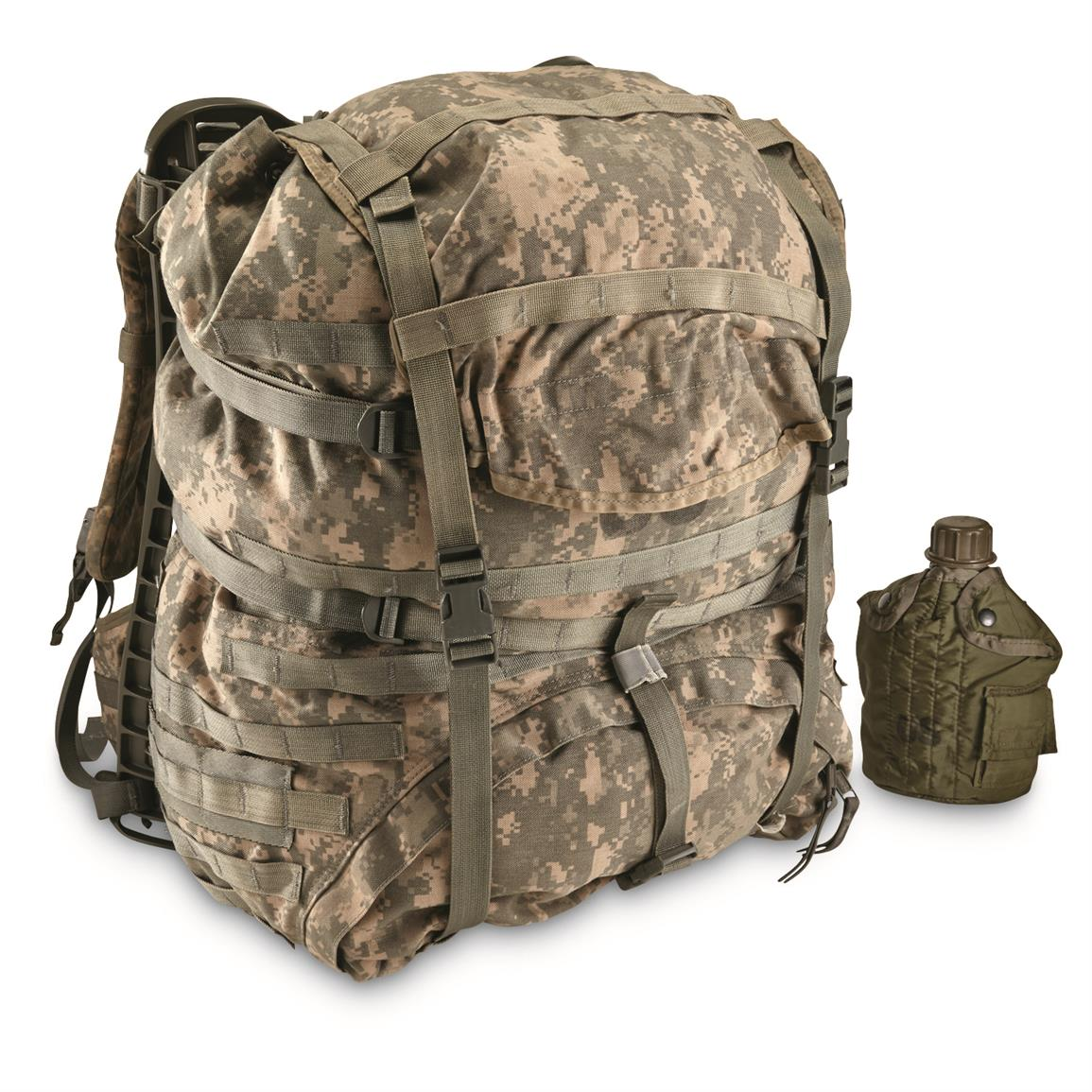 U.S. Military Surplus Field Pack with Frame, Used