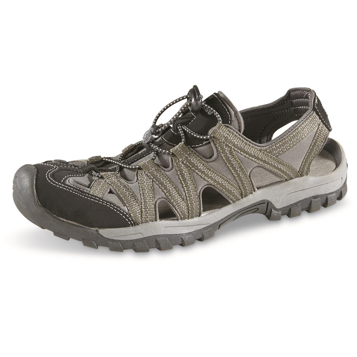 Northside Men's Santa Cruz Sandals, Dark Olive