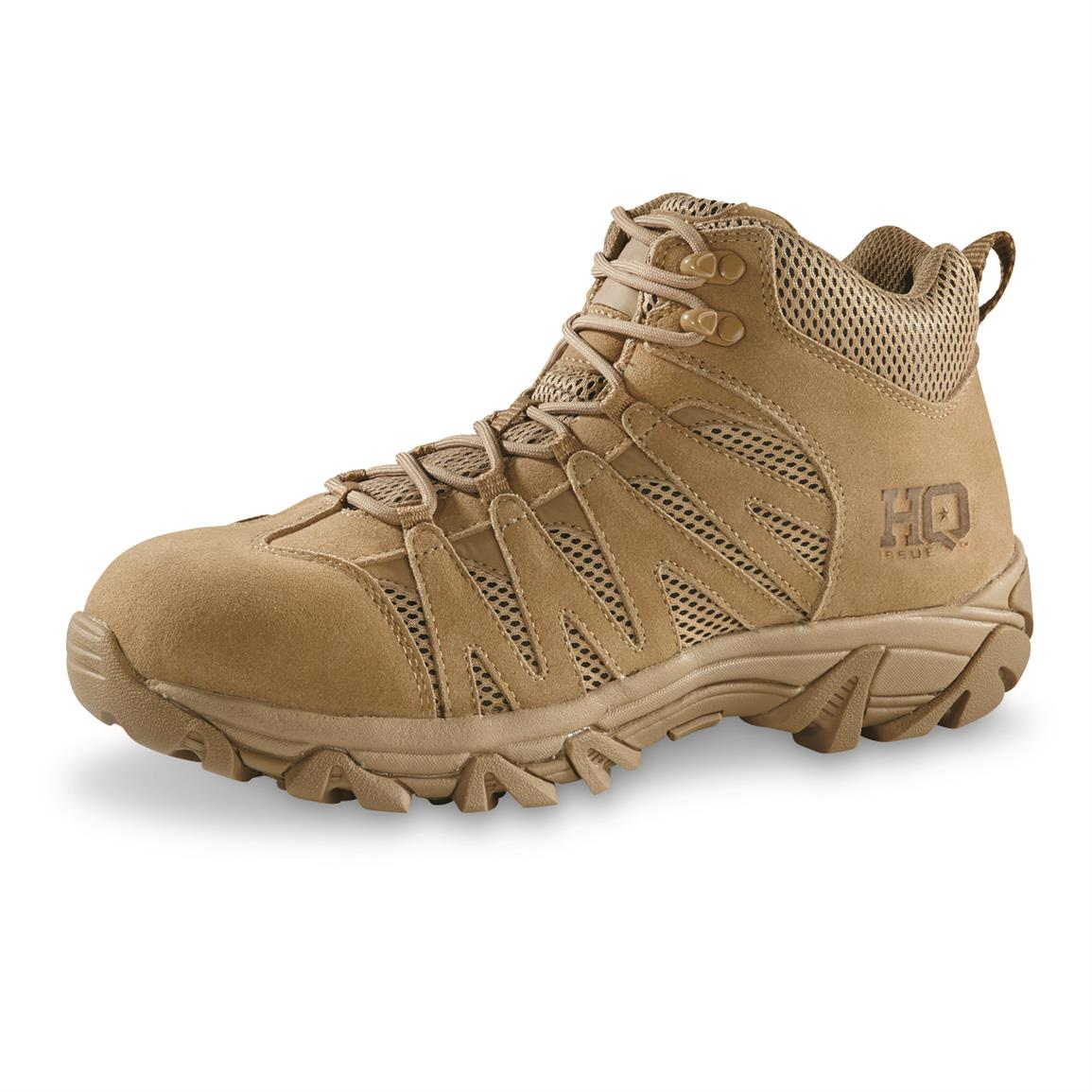 "HQ ISSUE Men's Canyon 6"" Waterproof Tactical Hiking Boots"