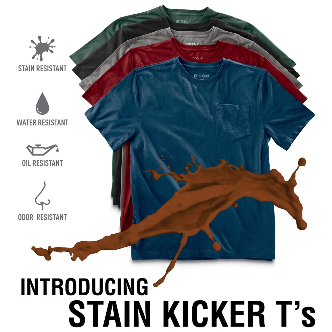 Introducing Stain Kicker T's!