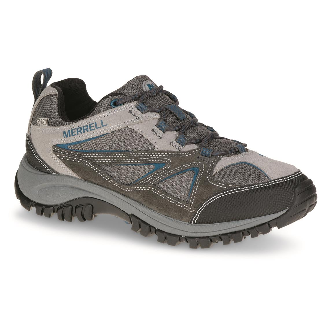 Merrell Men's Phoenix Bluff Waterproof Hiking Shoes, Gray