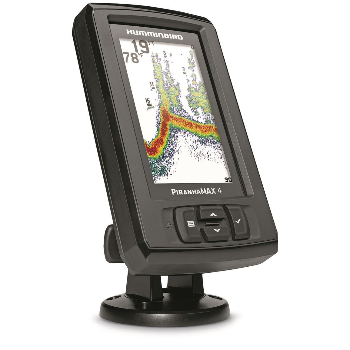 Humminbird piranhamax 4 sonar fish finder 678885 fish for Piranha fish finder