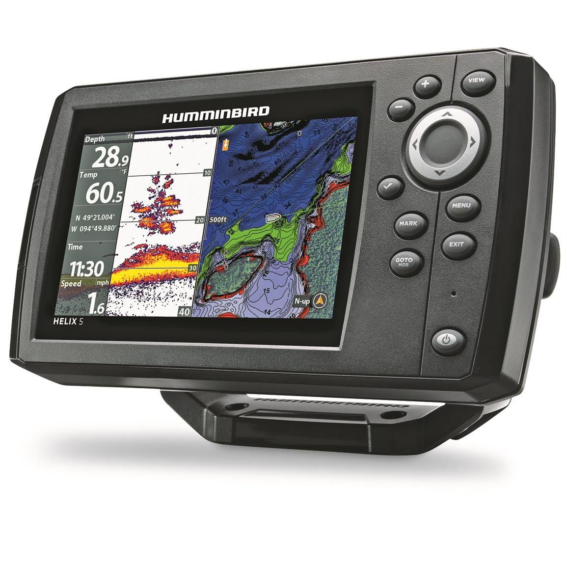 Humminbird helix 5 chirp gps g2 sonar fish finder 678891 for Fish finders on sale