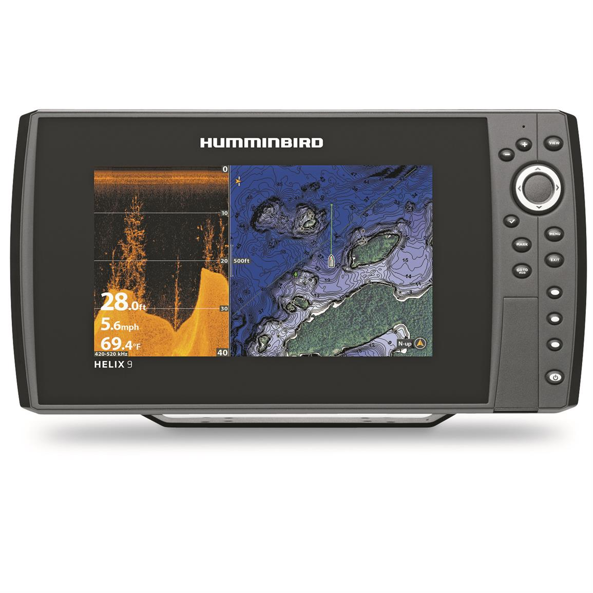 Humminbird HELIX 9 CHIRP DI GPS G2N Sonar Fish Finder