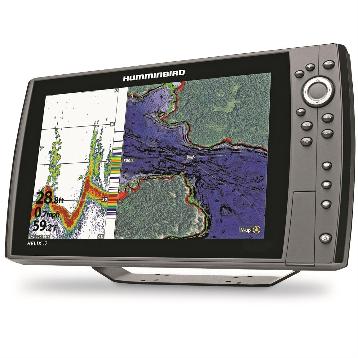 Humminbird helix 12 chirp gps g2n sonar fish finder for Humminbird fish finders