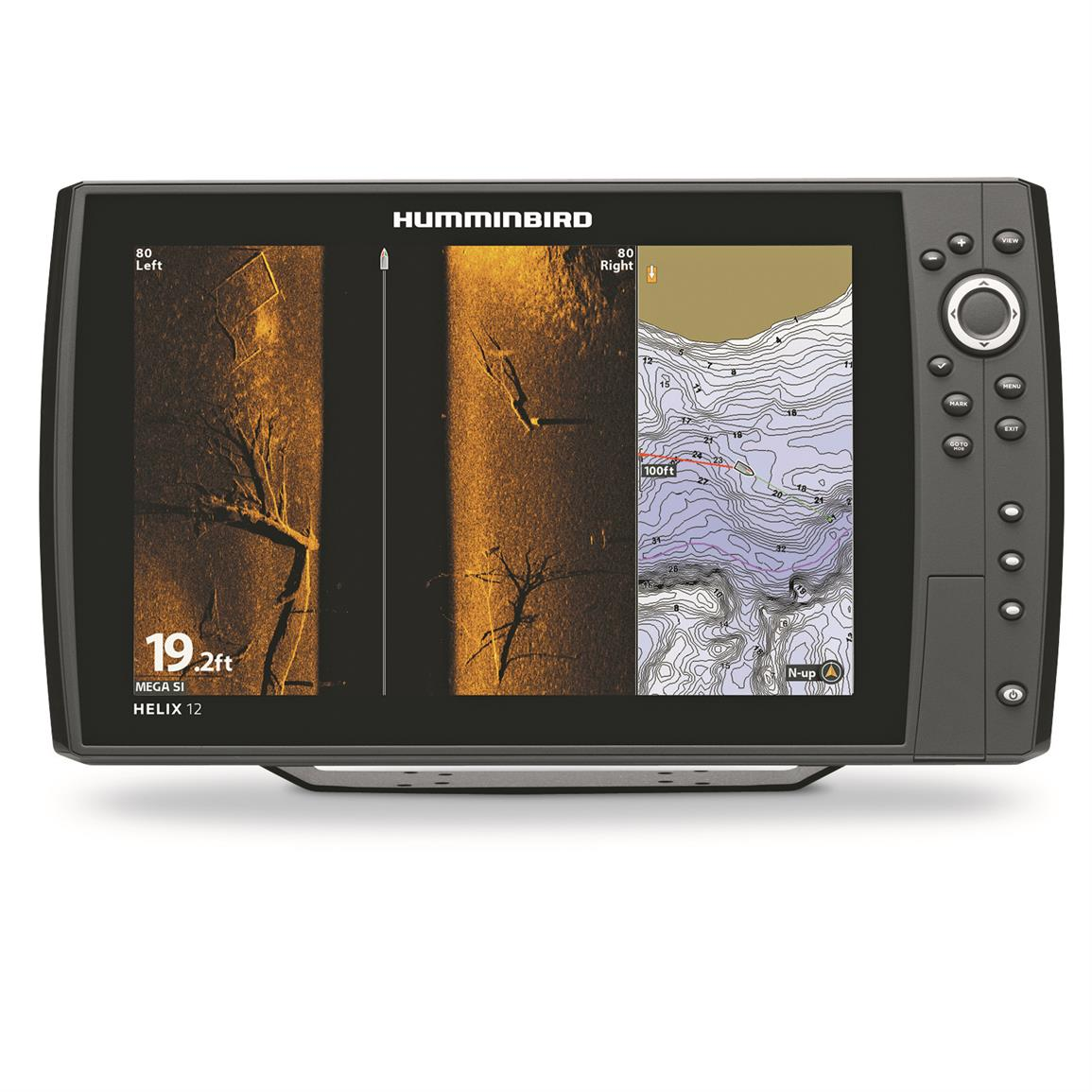 Humminbird HELIX 12 CHIRP MEGA SI GPS G2N Sonar Fish Finder