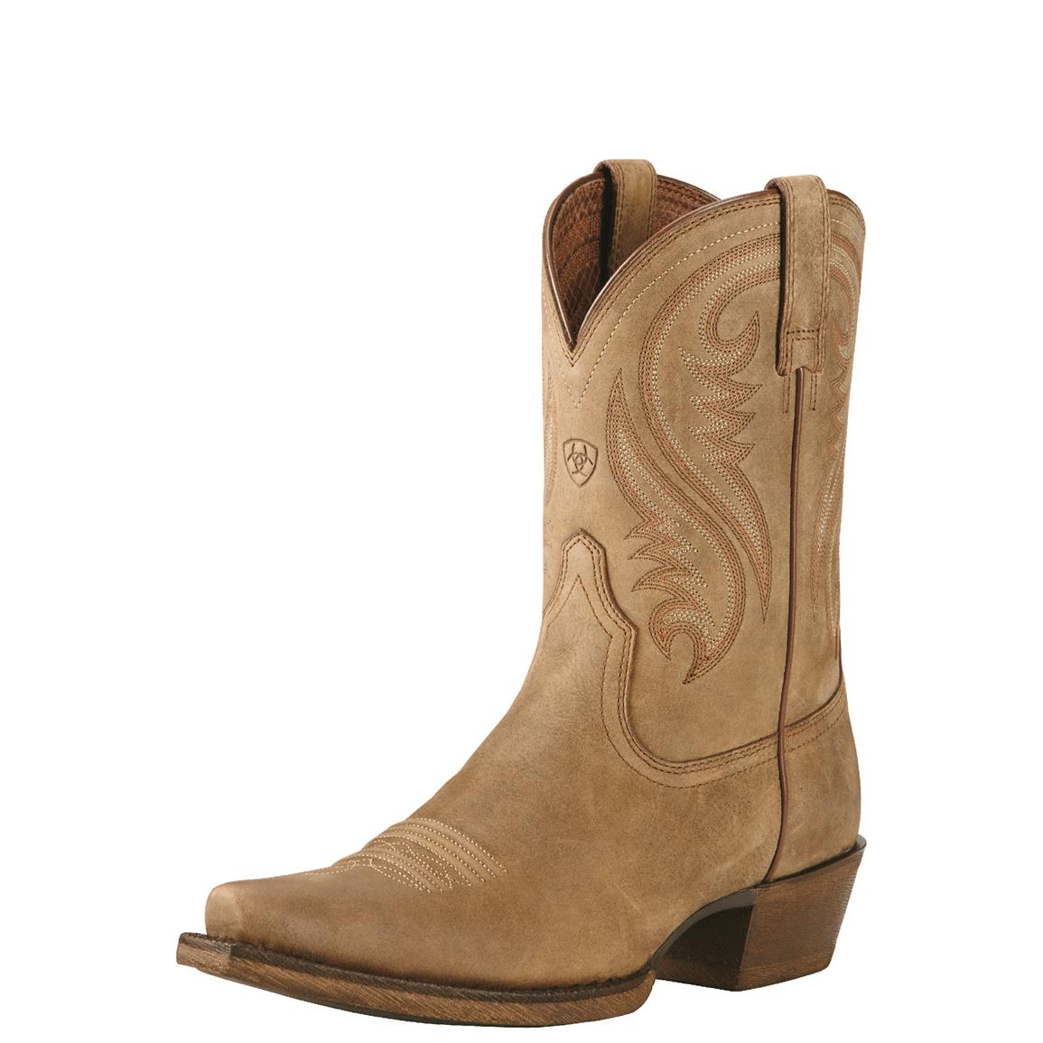 Ariat Women's Willow Western Boots, Brown Bomber