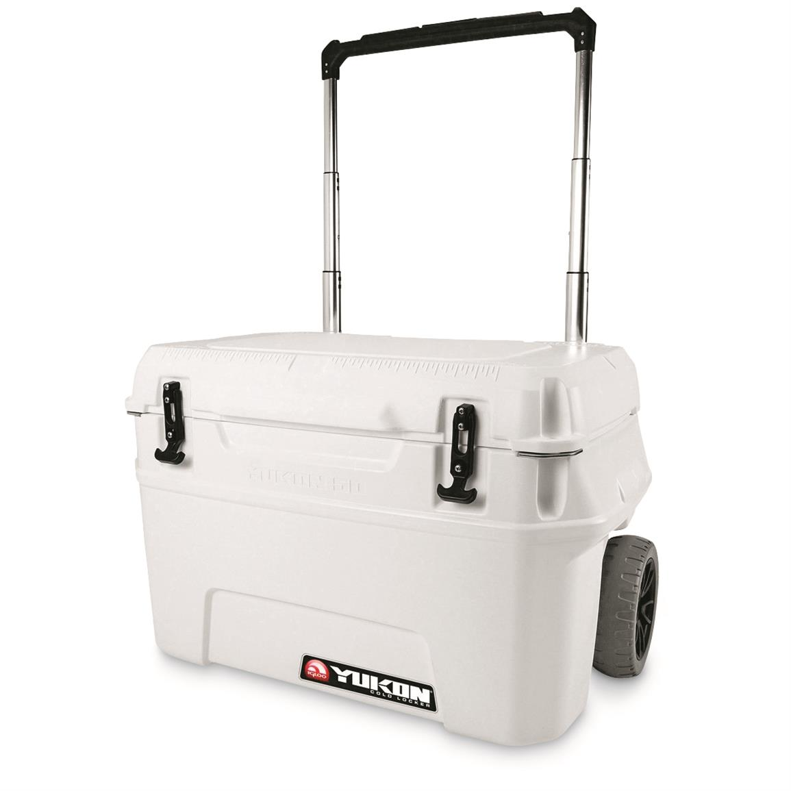Igloo Yukon 50-qt. Roller Cooler, White