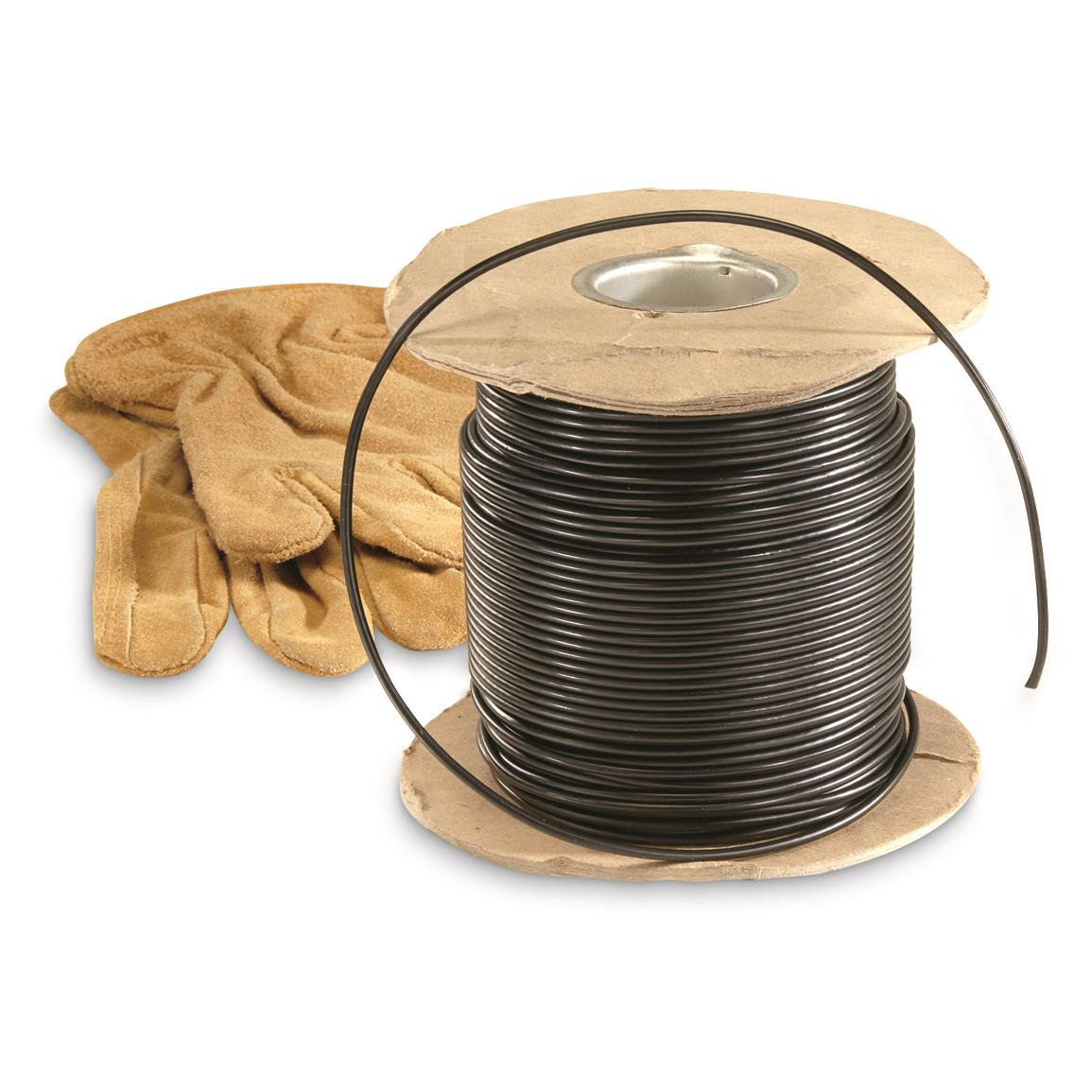 U.S. Military Surplus 500' Copper Core Electrical Wire, New
