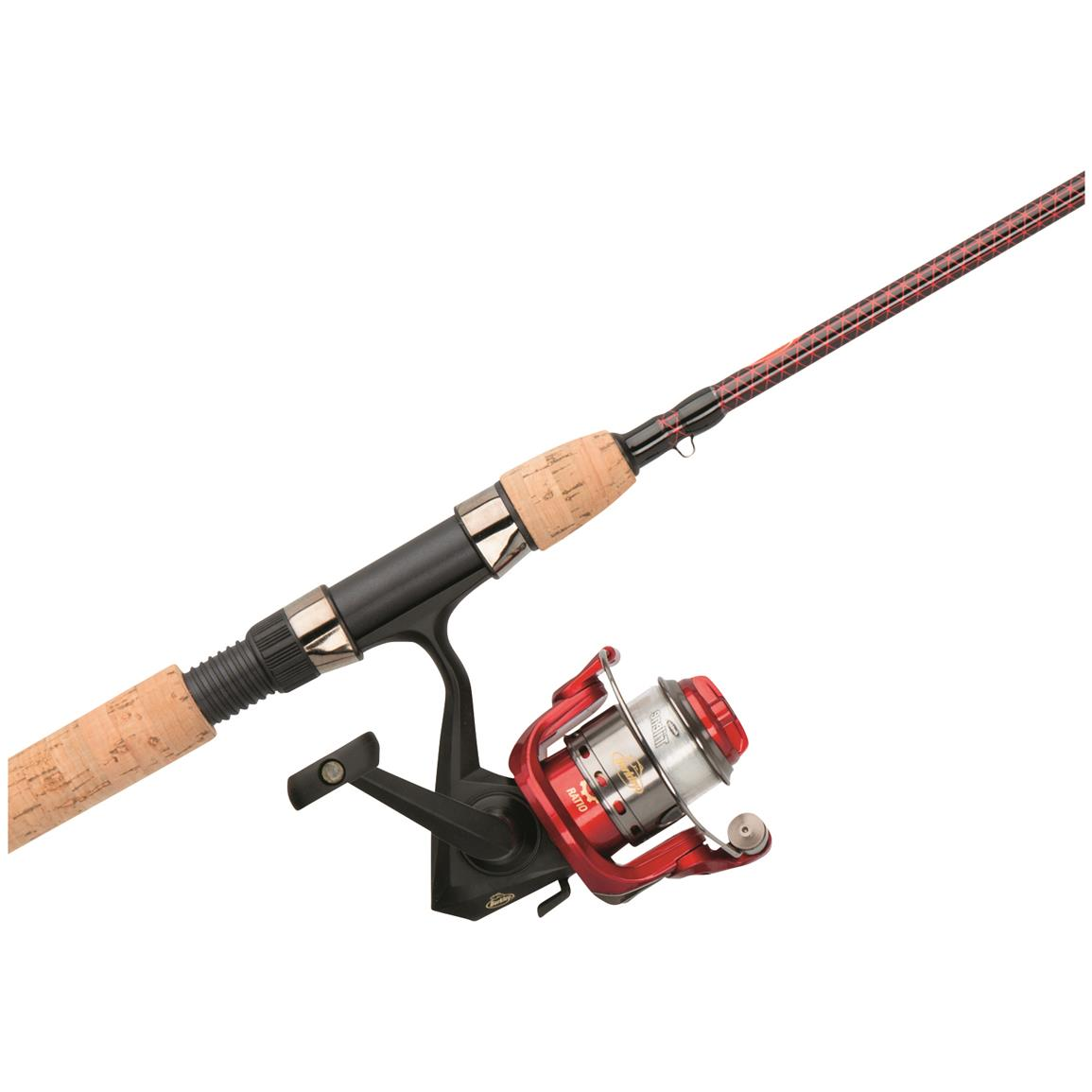 Berkley Cherrywood HD Spinning Rod and Reel Combo