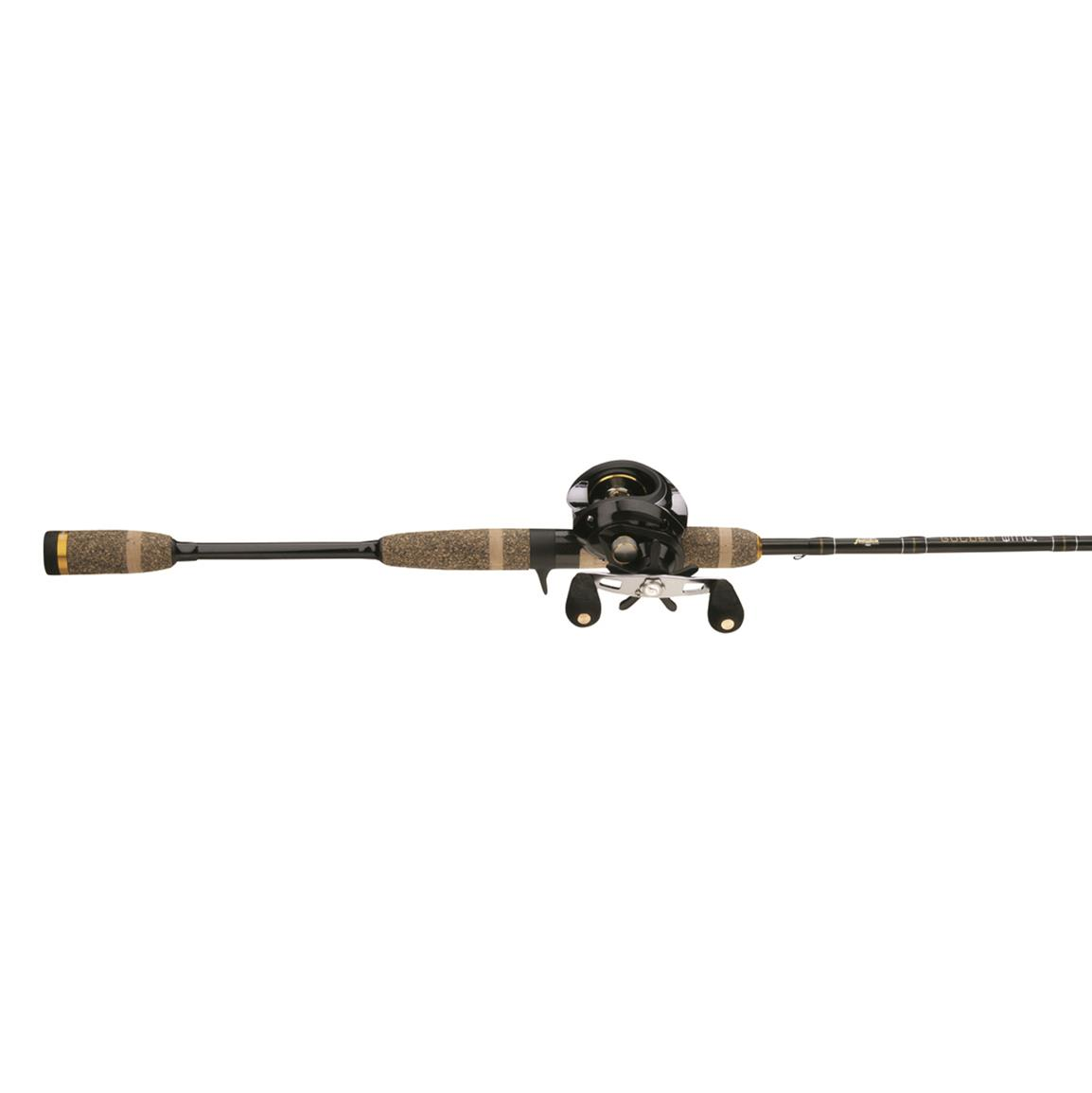 Fenwick Pflueger Golden Wing Low Profile7 foot' Baitcasting Rod & Reel Combo