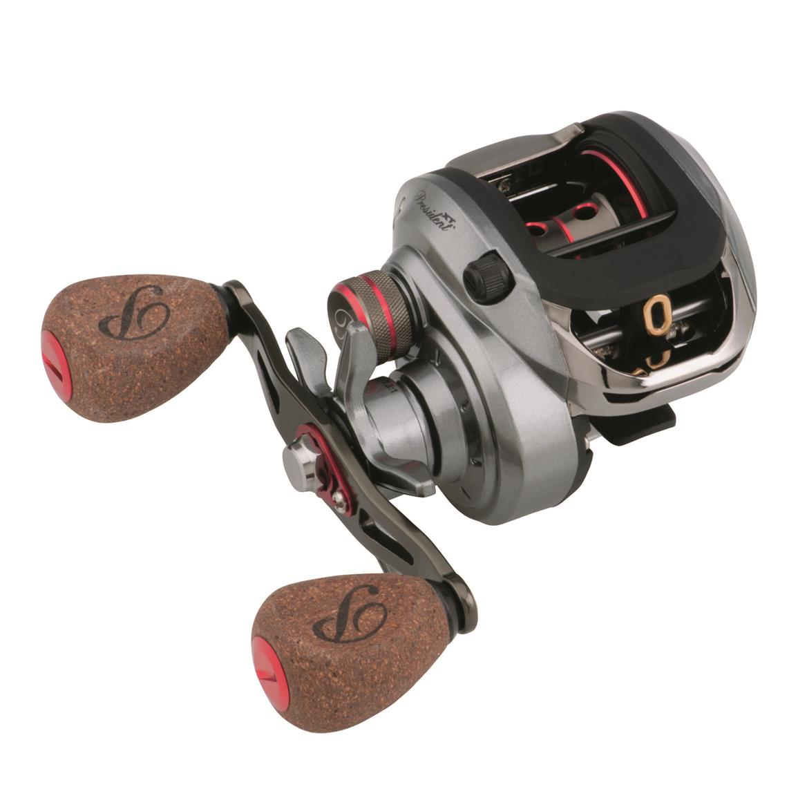 Pflueger President XT Low Profile Baitcasting Fishing Reel