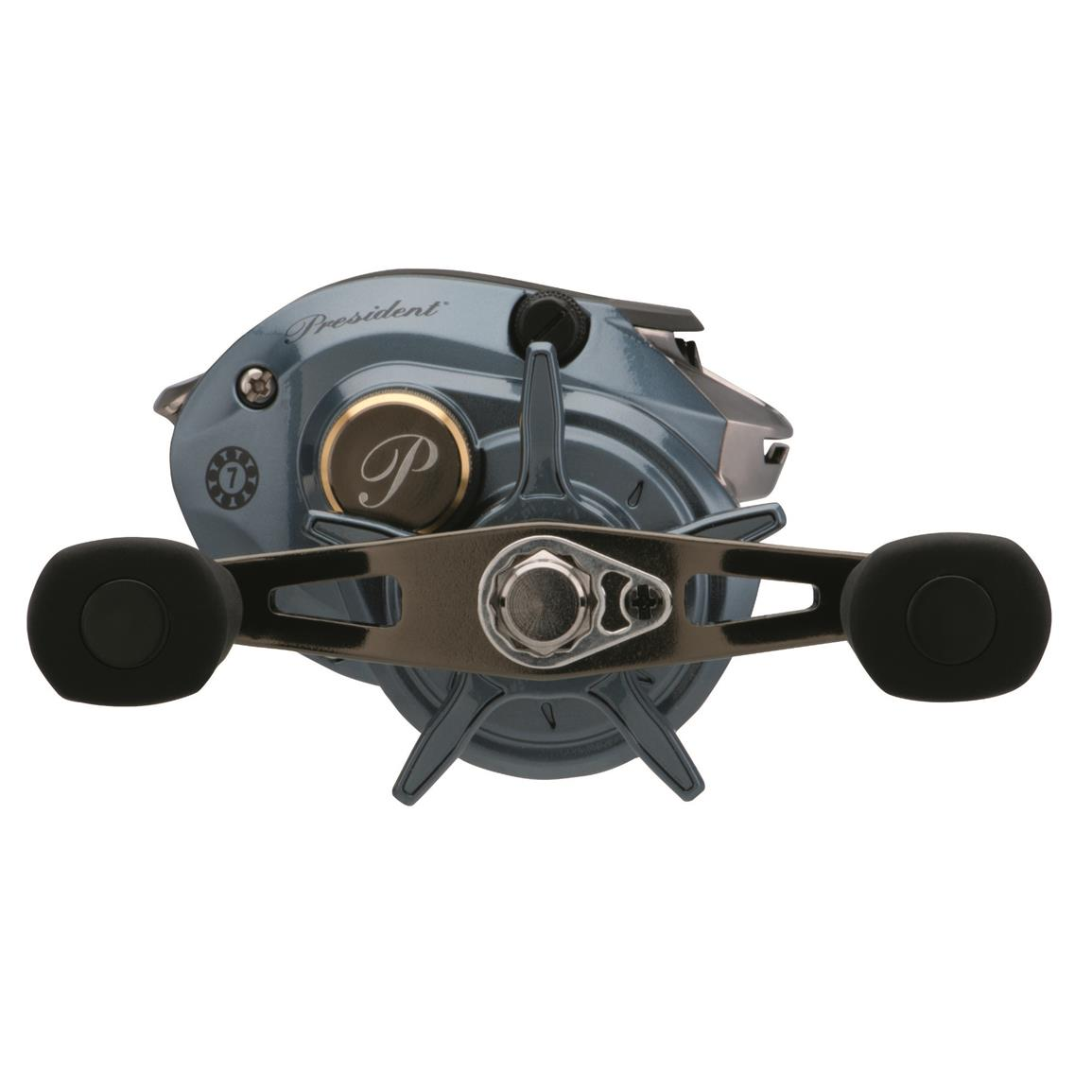 Pflueger President Low Profile Baitcasting Fishing Reel