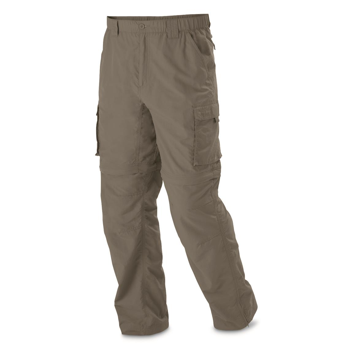 Guide Gear Men's Zip Off River Pants, Sage