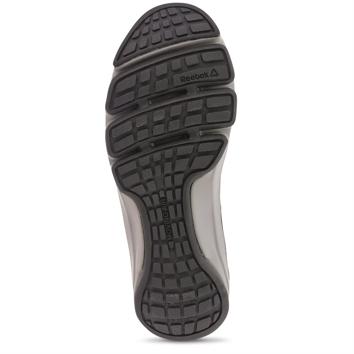 DMX Flex rubber outsole with top rating for slip resistance