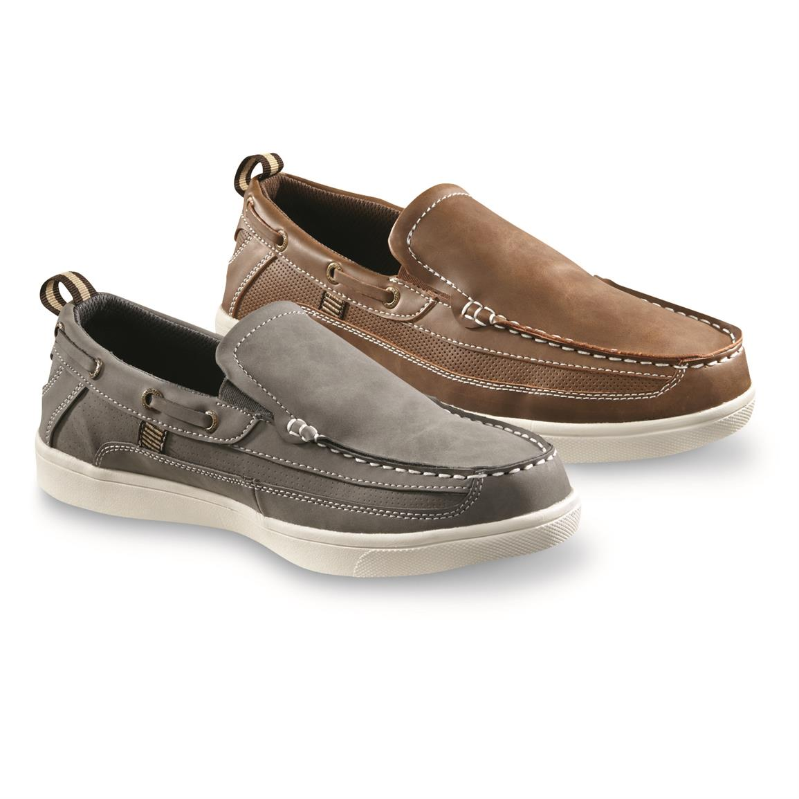 Hang Ten Men's Pier Slip-On Boat Shoes