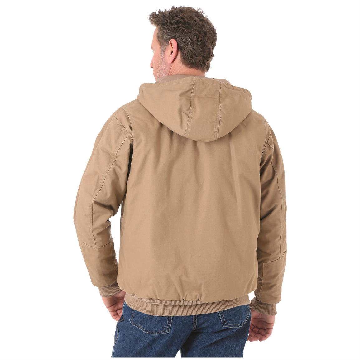Wrangler RIGGS Workwear Men's Utility Jacket, Rear View