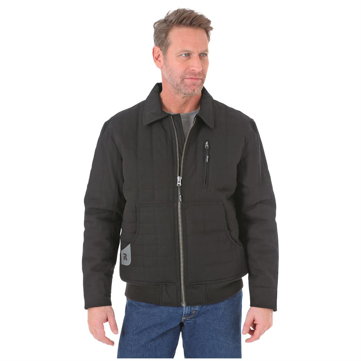 Wrangler RIGGS Workwear Men's Tradesman Jacket, Black