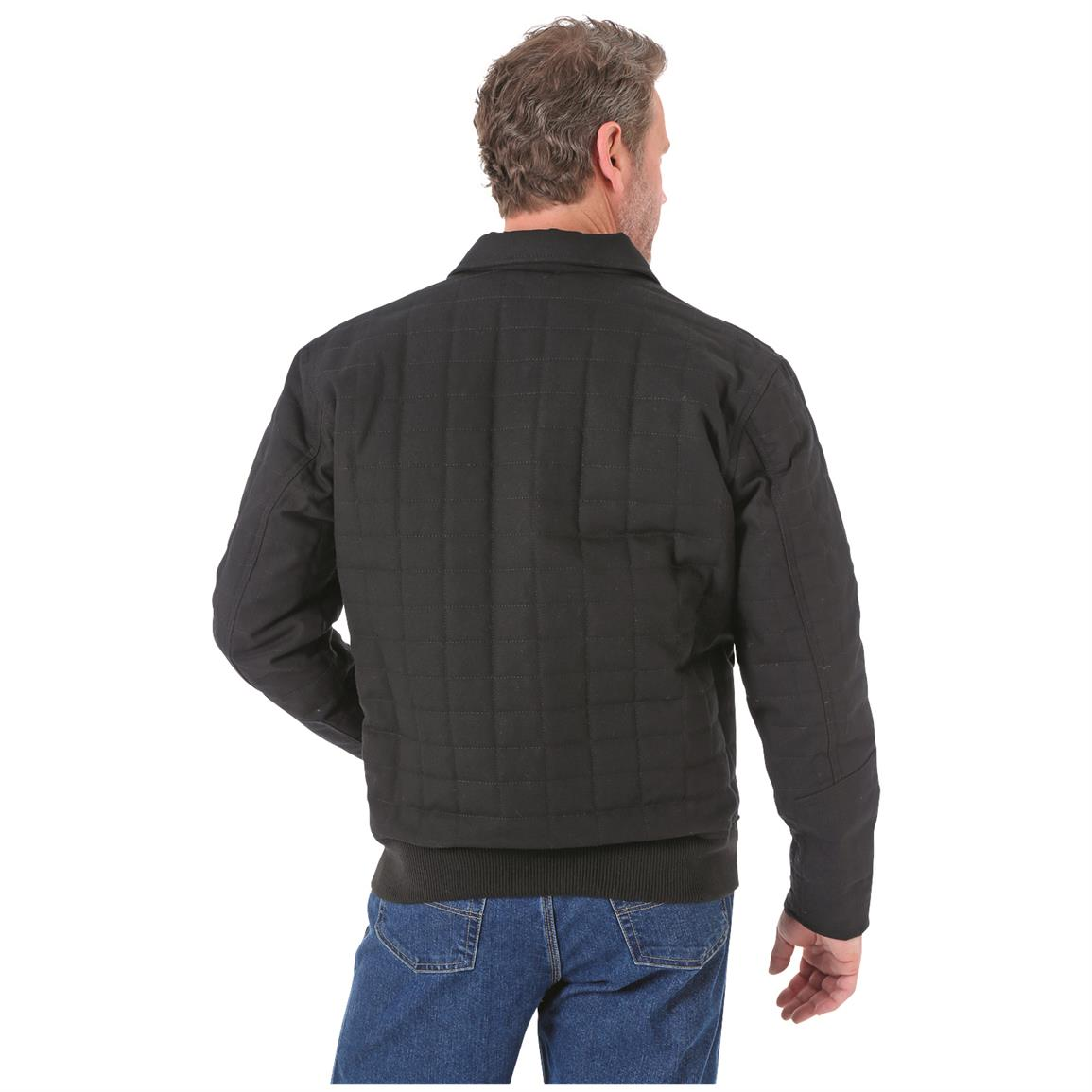 Wrangler RIGGS Workwear Men's Tradesman Jacket, Rear View