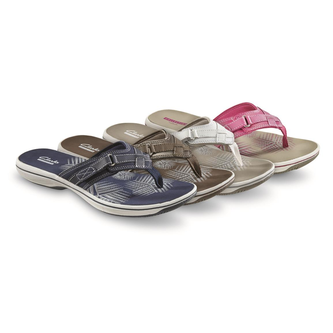 Clarks Women's Breeze Sea Sandals