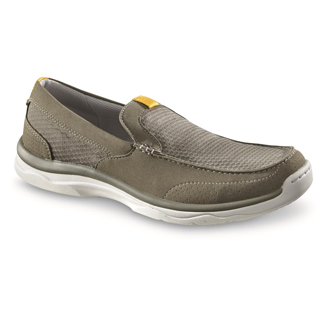 Clarks Men's Cloudsteppers Marus Step Shoes, Olive