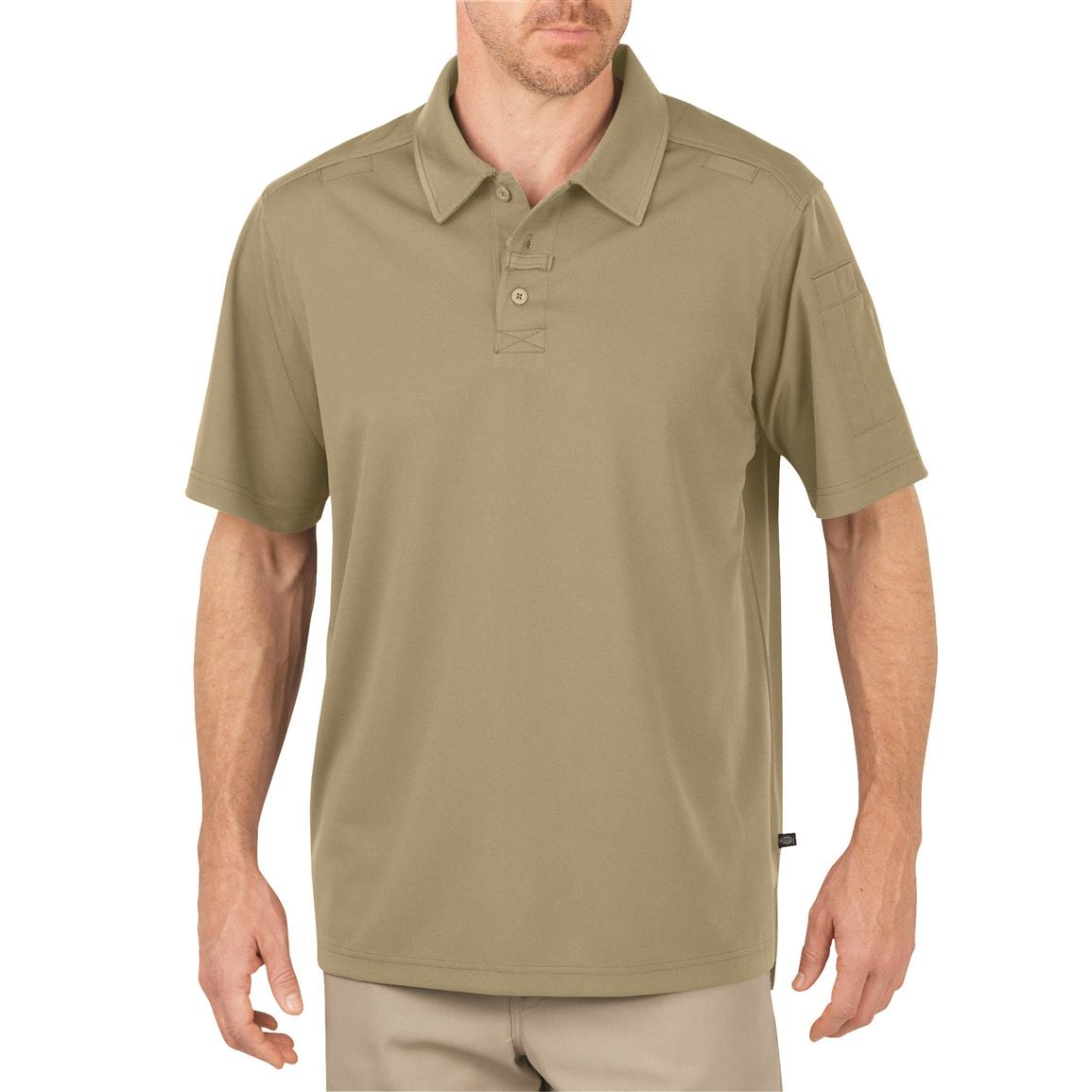 Dickies Men's Tactical Performance Polo Shirt, Desert Sand