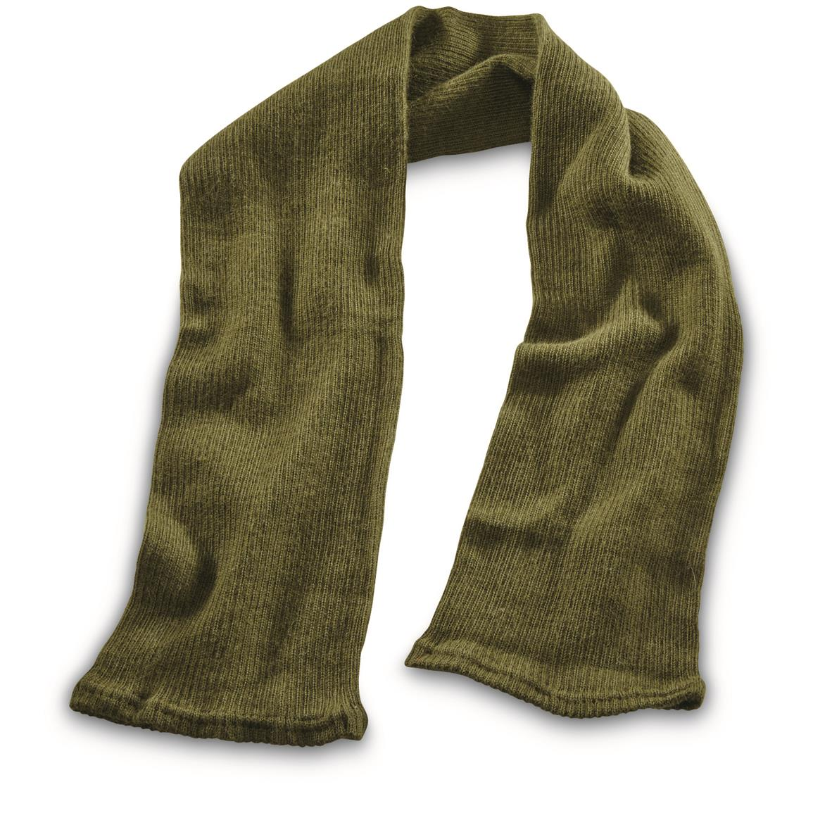 Can be worn as wrap-around scarf