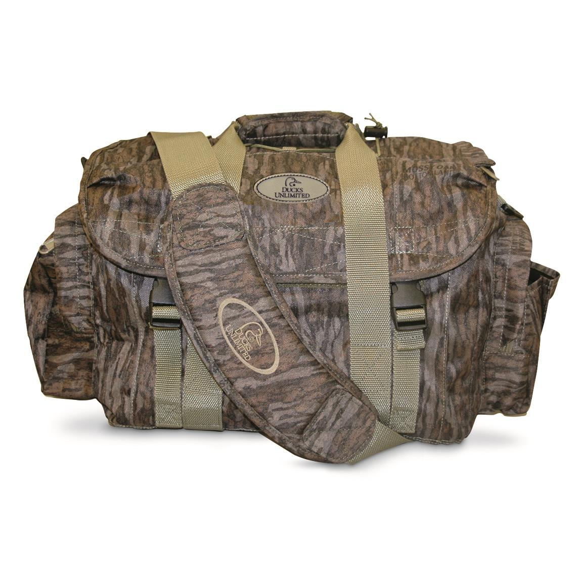 Ducks Unlimited Magnum Floating Blind Bag, Bottomland Camo